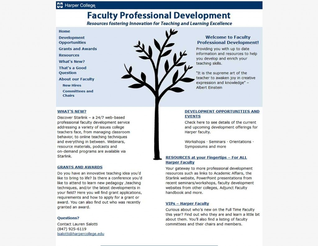 Faculty Development Version 1