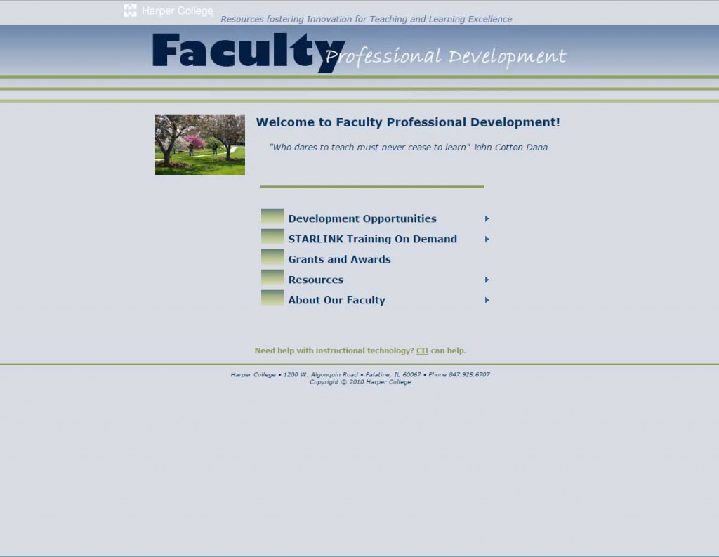 Faculty Development Version 2