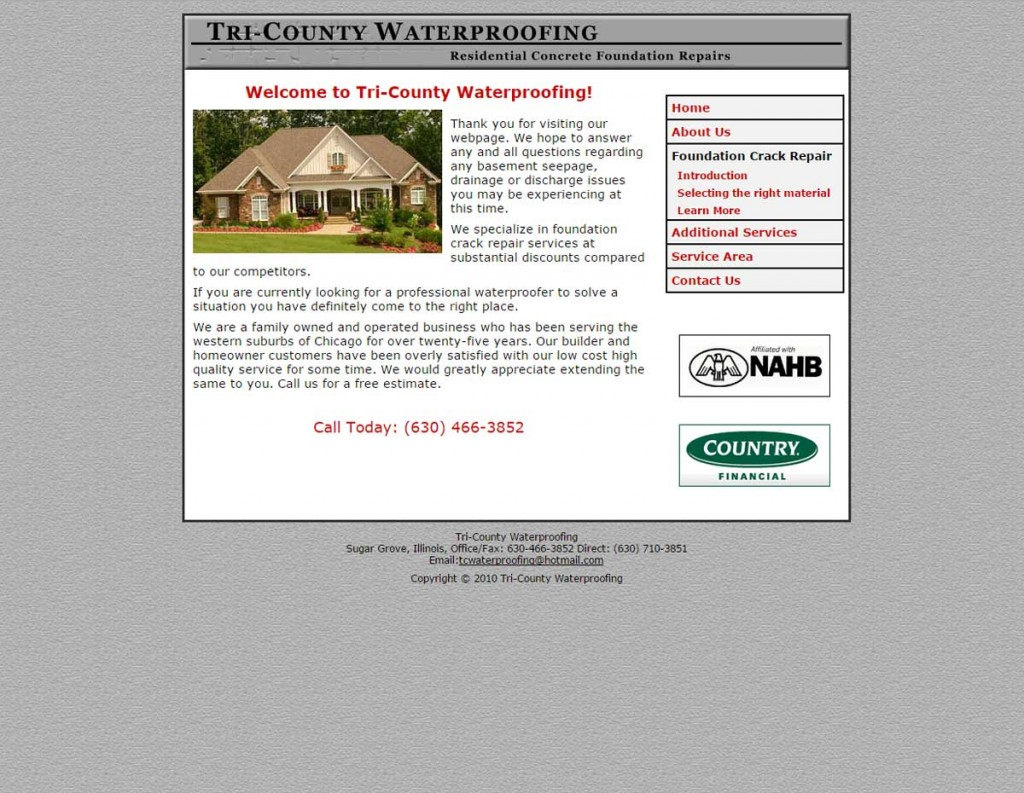 Tri-County Waterproofing